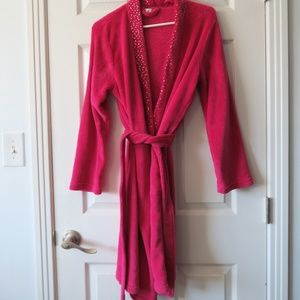 Ulta Bright Pink Robe